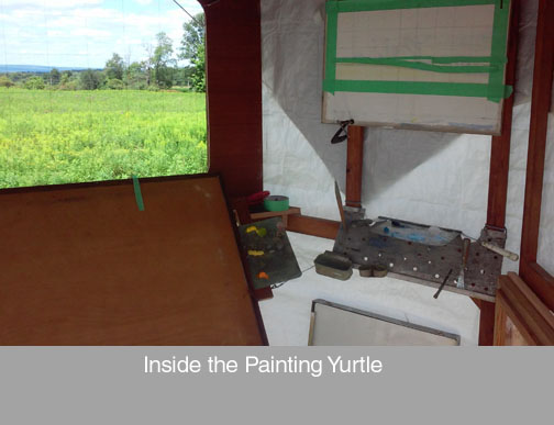 painting yurtle 2
